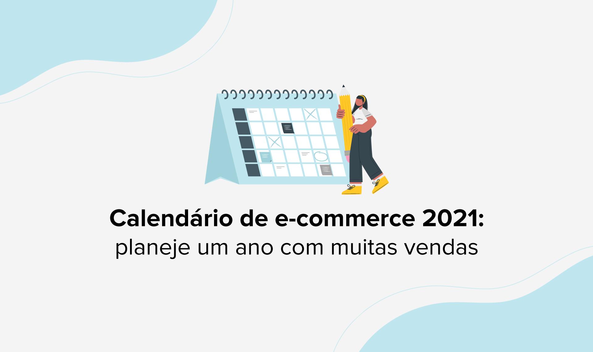 Calendário de e-commerce